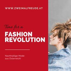 Finde nachhaltige und regional erzeugte Mode. Sei Teil der Fashion Revolution! Slow Fashion aus Österreich Trends, Regional, Revolution, Movie Posters, Top, Sustainable Fashion, Sustainability, Organic Beauty, Things To Do