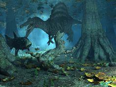 """Spinosaurus as """"Leviathan"""""""