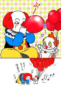 Poor old Pennywise :( but still cute tho