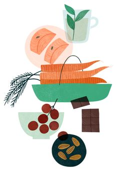 'Skin Food' Illustration by Clare Owen for Verily Magazine