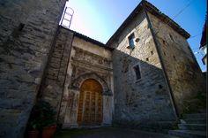 Chiesa del Crocifisso ad Acquasanta Terme #terredelpiceno