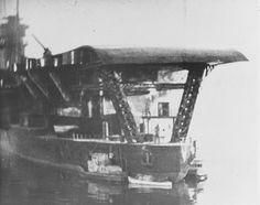 Stern view of Japanese aircraft carrier KAGA