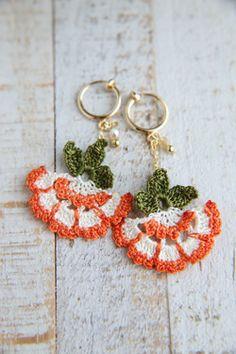 oya crochet earring