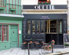 Paris Photography, Pastry Shop, Patisserie Odette, Fine Art Travel Photograph, French Decor, Large Wall Art