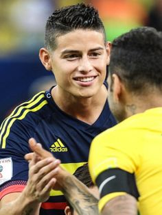 Capitán James Rodriguez Colombia vs Brasil 6.9.16