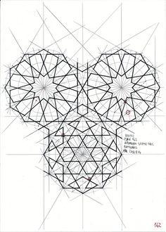 Bou112 #islamicdesign #islamicpattern #islamicart #arabiangeometry #geometry #symmetry #pattern #mathart #regolo54 #handmade
