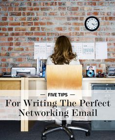 5 Tips For Writing The Perfect Networking Email | Levo | Networking