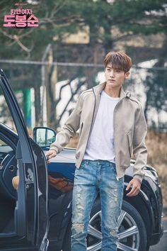[Strong Woman Do Bong Soon] Korean Drama Yongin, Korean Men, Asian Men, Strong Girls, Strong Women, Asian Actors, Korean Actors, Korean Idols, K Pop