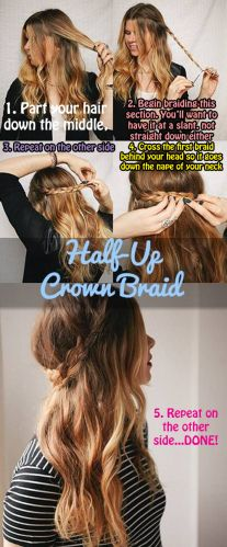 11 DIY hairstyles for any occasion (14photos) - a5559450bccc9d019d7e04e027acb74a