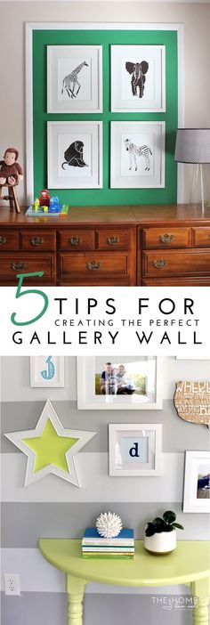 Tips for Creating the Perfect Gallery Wall Title Image