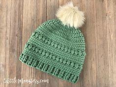 Bead Stitch Hat Free Crochet Pattern   DailyCrochetIdeas