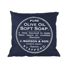 Cushion - Olive - French Home