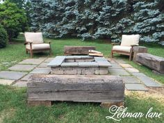 How to build patio furniture how to build a cheap patio cheap fire pit patio set . Fire Pit Patio Set, Diy Fire Pit, Fire Pit Backyard, Fire Pits, Pergola Patio, Diy Patio, Pergola Plans, Pergola Ideas, Patio Ideas