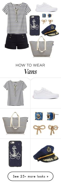 """"""""""" by mbubbles109 on Polyvore featuring Casetify, BAGGU, L.L.Bean, Betsey Johnson and Vans"""