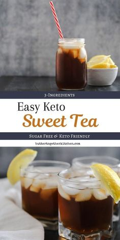 Sugar Free Keto Sweet Tea - Enjoy a delicious and refreshing glass. Best Picture For Keto Diet pla Keto Foods, Keto Diet Drinks, Ketogenic Diet Menu, Keto Drink, Ketogenic Diet For Beginners, Keto Recipes, Keto Snacks, Ketogenic Cookbook, Keto Meal