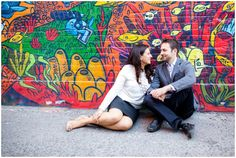 Urban engagement photos from Haley Photography // Urban Engagement Photos, Engagement Session, Chic, Photography, Shabby Chic, Elegant, Photograph, Fotografie, Photoshoot