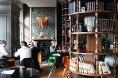"""""""Northern Steamship"""" a favorite bar from Auckland, NZ. Office Set, Old Building, Auckland, Architecture, Restaurant Interiors, Places, Bar, Design, Google Search"""