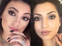 Kylie Jenner Inspired Makeup Tutorial 2014 by iMacUrface (MarianaBear) - watch this girl's videos. She is really talented!!
