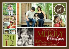 Christmas Photo Card  Holiday Photo Card by EveryMakingMoment