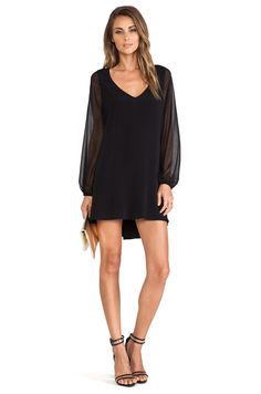 Lovers + Friends Lovers + Friends Gracie Dress in Black | REVOLVE