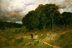 Approaching Storm, 1886 - EDWARD MITCHELL BANNISTER.Эдвард Митчелл Баннистер