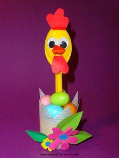 Lavoretti di Pasqua semplici per bambini