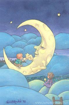 Moon Lighting - James Browne