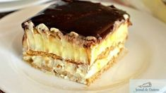 15 minut i gotowe. Food Cakes, Delicious Deserts, Yummy Food, Sweets Recipes, Cake Recipes, Biscuits Graham, Polish Desserts, Romanian Desserts, Dessert Bread