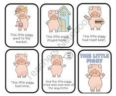 This Little Piggy Went to the Market Printable ~ Preschool Printables Preschool Programs, Preschool Music, Preschool Printables, Preschool Activities, Baby Songs, Fun Songs, Kids Songs, Happy Days Nursery, Nursery Rhymes Lyrics
