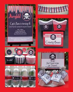Decorating ideas for pirate party