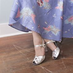 Shimmer in style with these fabulous silver metallic Re-Mix Garnet Heels! #trashydiva #trashydivalilacatomic