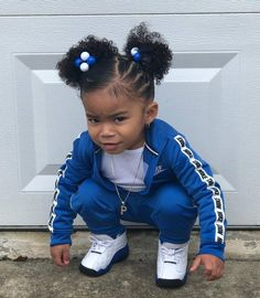 40 Ideas fashion kids autumn daughters - All For New Hairstyles Black Baby Girls, Cute Black Babies, Beautiful Black Babies, Cute Baby Girl, Lil Baby, Lil Girl Hairstyles, Cute Hairstyles For Kids, Mixed Baby Hairstyles, Toddler Hairstyles