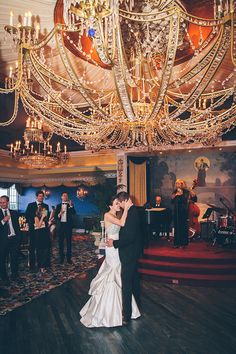 "The bride and groom's first dance to ""Everything"" by Michael Bublé 