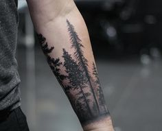 Forearm tattoo, full arm tattoo or cuff tattoo: which one to choose? - Forearm tattoo, half cuff and full arm – ideas for a wise choice - Forest Tattoo Sleeve, Forest Forearm Tattoo, Tree Tattoo Arm, Forest Tattoos, Cool Forearm Tattoos, Forearm Tattoo Design, Awesome Tattoos, Half Sleeve Tattoos For Guys, Half Sleeve Tattoos Designs