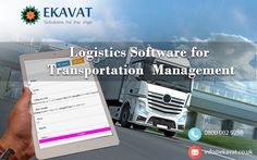 Our highly configurable enterprise #LogisticsSoftware solutions are designed to serve all client needs using smart technology and big data analytics for supply chains. Logistics optimization solutions are automated, effective, and highly optimized. Features: 1.Gain total accessibility through our cloud storage 2.End to End Solution to all administrative challenges. 3.Total customer control From Pick up to Drop off. FOR MORE DETAILS CLICK HERE:https://goo.gl/2thtvf