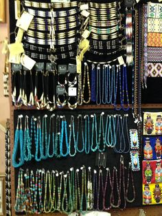 Authentic Native American made jewelry.