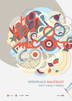 Poster Vetroplach Maličkosti Music Love, Posters, Postres, Banners, Billboard, Poster