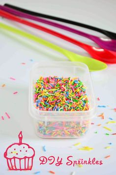 How To Make Sprinkles At Home| Easy DIY Ideas by @Anusha R Kumar Praveen| Tomato Blues #YBR