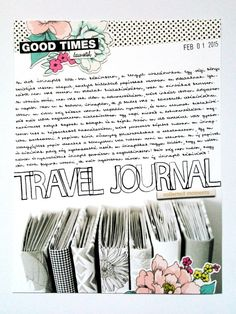 My travel journal collection. by MonikaKnapp at @studio_calico