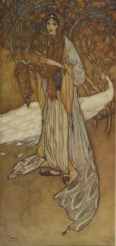 Stories of the Arabian Nights by Edmund Dulac