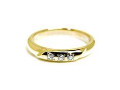 AMBRACE K18 yellow gold ring luxury diamond レディース リング 指輪 ラグジュアリー ダイヤモンド ピンキーリング イエローゴールド
