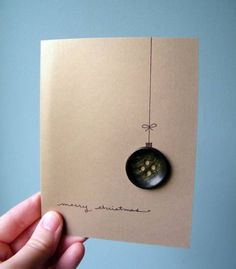 merry christmas This beautiful gold card is the perfect way to send . , merry christmas This beautiful gold card is the perfect way to send . Button Christmas Cards, Merry Christmas, Christmas Canvas, Button Cards, Homemade Christmas Cards, Christmas Banners, Xmas Cards, Diy Cards, Christmas Diy