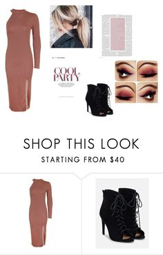 """""""Cool Party"""" by patriciastyles-3 ❤ liked on Polyvore featuring Topshop and JustFab"""