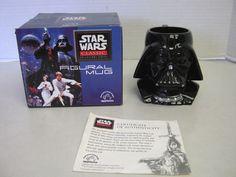 Star Wars Darth Vader Black Figural Mug Classic Collectors Ceramic Applause