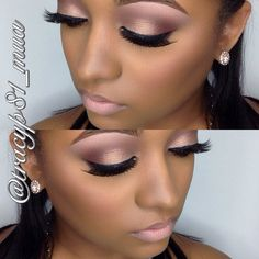 .salted caramel and semi sweet in the crease. On the lid: Creme Brûlée and cherry cardinal on outer corner blended into the crease.