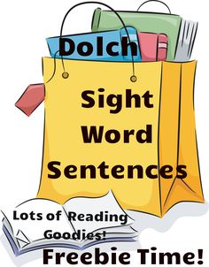 Free Dolch sight word sentences