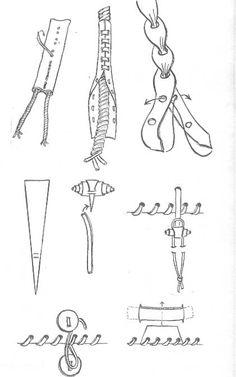 Accesorios de cuero Leather Carving, Leather Art, Sewing Leather, Leather Pattern, Leather Design, Leather Tooling, Leather And Lace, Leather Purses, Diy Tresses
