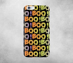 Boo Halloween iPhone 6 Cases iPhone 5 Case New iPhone by EGMyPhone