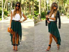 Love these skirts