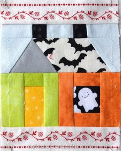 Little Houses; Building Houses from Scraps - Walnut Street QuiltsWalnut Street Quilts